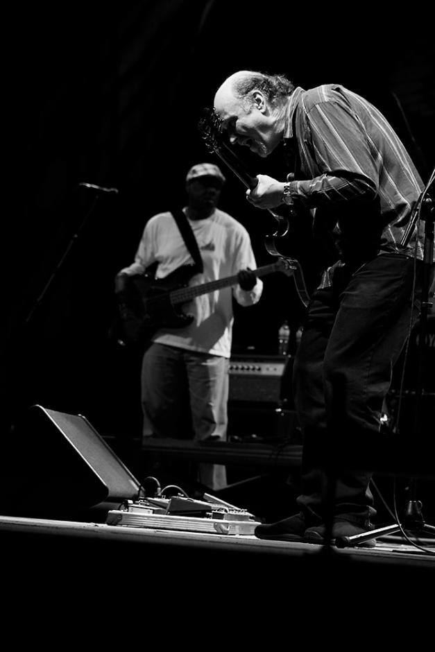 John Scofield en concierto en el XVII festival de blues y Jazz de Pontevedra.